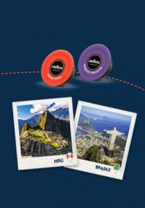 Grande concorso Lavazza vinci viaggio in Perù o in Brasile