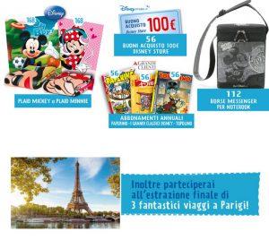 Concorso Alì e Alìper vinci premi Disney o viaggio a Parigi