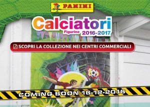Album Calciatori Panini 2016-2017 in regalo al centro commerciale (solo 17-18 dicembre)