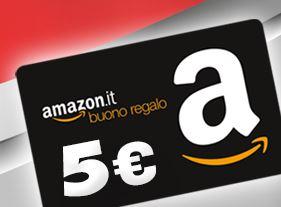 Buono regalo Amazon da 5 euro premio sicuro con Pritt