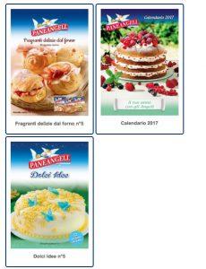 Come richiedere online gratis calendario 2017 e ricettari Paneangeli