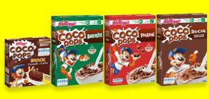 Cococannuccia omaggio con Coco Pops Kellogg's
