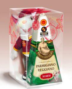Confezioni Natale 2016 Parmareggio: peluche e formaggiere