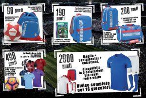 Raccolta punti Calcioregali 2017 con figurine Calciatori Panini