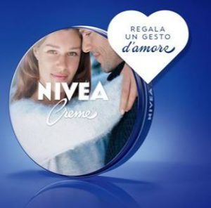 Nivea Creme personalizzata con foto in omaggio