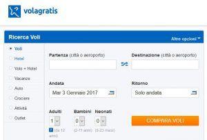 Voucher Volagratis (100 euro) con concorso Dove