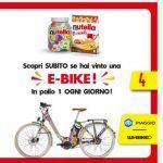 Nutella B-Ready concorso vinci bici elettrica Piaggio