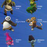 Collezione personaggi 3D Rubbiz da Eurospin