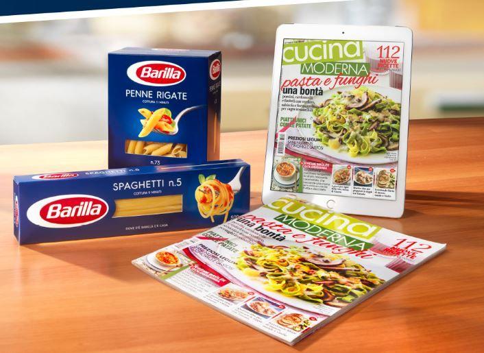 Premio sicuro barilla abbonamento rivista cucina moderna for Cucina moderna abbonamento