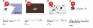 Raccolta Ferrarele 2017: Carta regalo, codici sconto e voucher