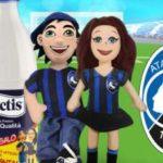 Raccolta Latte Lactis in premio peluche Atalanta