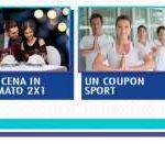 Coupon benessere, cena, sport e film on demand premio certo Daygum