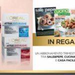 Rivista Sale&Pepe, Cucina moderna e Casa facile premio L'Orèal Age