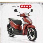 Coop Coca Cola: vinci scooter Piaggio Liberty 125 S