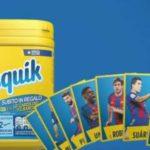 Card FC Barcellona in regalo con Nesquik