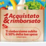 Buoni spesa Auchan e Ipersimply con la promozione Acquistato & Rimborsato