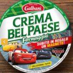 Collezione magneti Cars 3 omaggio con Belpaese formaggini