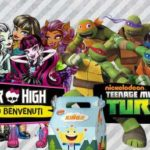 Sorpresina Burger King Ottobre Novembre 2017: Monster High e Tartarughe Ninja
