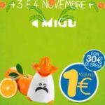 Spremi agrumi elettrico a 1 euro da Eurospin
