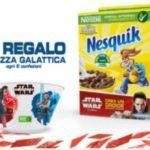 Tazza Star Wars omaggio Nesquik cereali