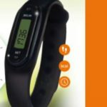 Fit band Oregon Scientific premio sicuro con Danacol al Carrefour