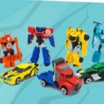 Giocattolo Transformers premio sicuro da Original Marines