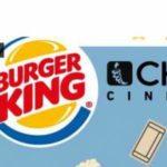 Buono cinema Chili e Stardust al Burger King