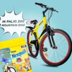 Concorso Nesquik solubile vinci mountain bike