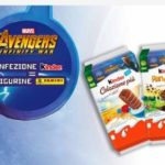 Figurine The Avengers omaggio merendine Kinder
