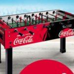 Vinci Calcetto con Coca Cola, Fanta, Fuzetea, Sprite