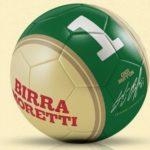 Pallone autografato Gigi Buffon premio sicuro con Birra Moretti