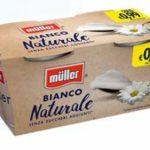 Provami Gratis Yogurt Muller, Cashback con Rimborso al 100%