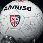 Pallone Cagliari calcio regalo sicuro con birra Ichnusa