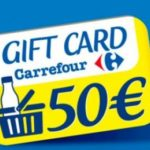Parmalat: vinci carta regalo Carrefour