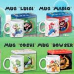 Auchan Raccolta bollini Supermario Mug Collection