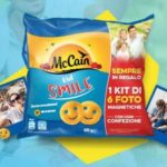 Kit foto magnetiche premio sicuro patatine Kid smile McCain