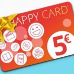 Happy Card IBS 5 euro in regalo con 5 recensioni