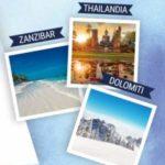 Felce Azzurra Aria di Casa: Vinci viaggio in Thailandia, Dolomiti e Zanzibar