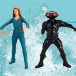 Personaggi Aquaman in regalo al Burger King