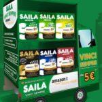 Buono regalo Amazon (5 euro) premio sicuro Saila