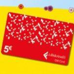 Gift Card Feltrinelli in regalo con Felce Azzurra