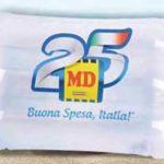 Cuscino MD omaggio il 25 giugno