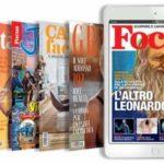 Abbonamento digitale rivista con caffè Lavazza