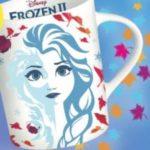 Tazza Frozen premio sicuro con Dixan
