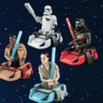 Personaggi 3D Star Wars con merendine Kinder