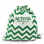 Zainetto brandizzato premio sicuro Activia