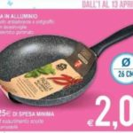 Padella a 2 euro all'MD Discount