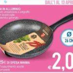 Padella a 2 euro all'MD Discount