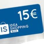 Voucher Idea Shopping Blue con shampoo extra delicato Restivoil