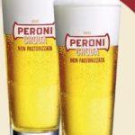 Bicchieri omaggio con birra Peroni